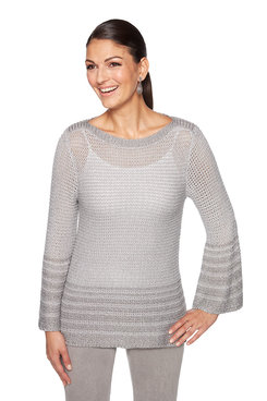 Image: Plus Ombre Pullover Sweater