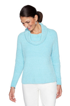 Image: Plus Plush Chenille Sweater