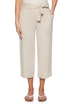 Image: Plus Rayon Linen Trousers