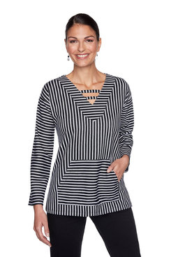 Image: Plus Striped Pullover