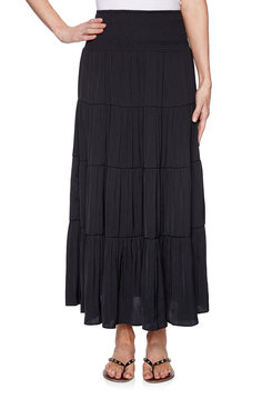 Image: Plus Tiered Skirt