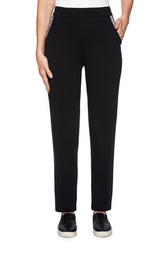 Image: Printed Stretch Terry Pant