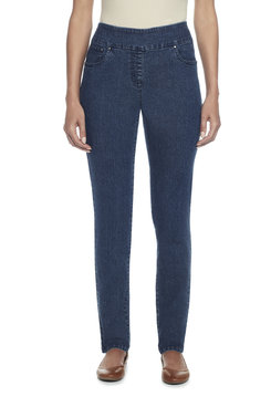 Image: Stretch Faux Pocket Jeans