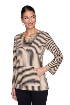 Image: Striped Pullover