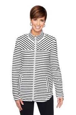 Image: Striped Terry Jacket