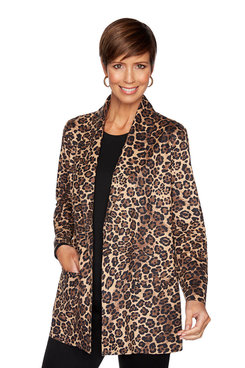Image: Suede Cheetah Jacket