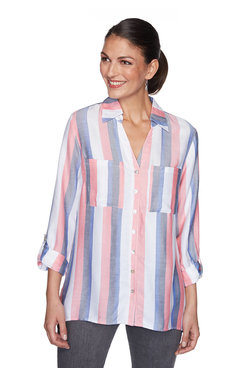 Image: Vertical Stripe Top