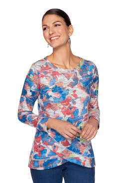 Image: Watercolor Floral Pullover