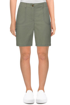 Image: Women's Fly-Front Ripstop Cargo Short